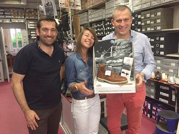 Chaussures Barthes : premiers distributeurs exclusifs de Prod'AUBRAC en Aveyron!